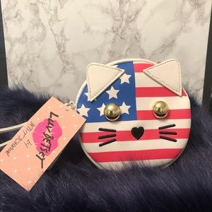 Betsy Johnson Americat coin purse